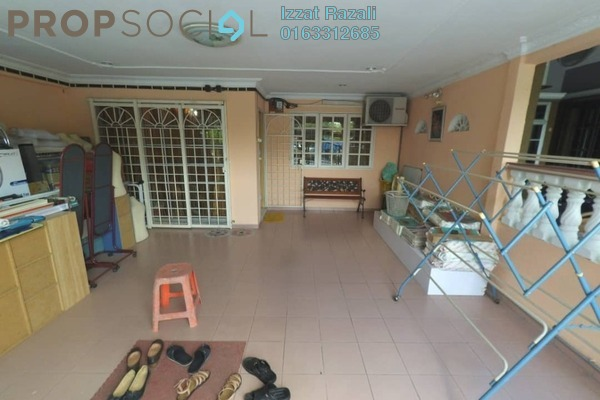 For Sale Terrace at Taman Desa Baiduri, Cheras South Freehold Semi Furnished 3R/2B 440k