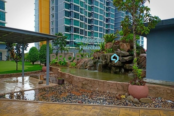 For Rent Condominium at Vista Alam, Shah Alam Freehold Semi Furnished 3R/2B 2k