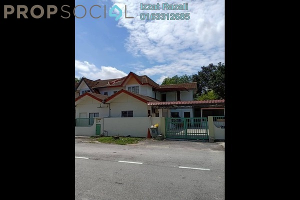 For Sale Terrace at Saujana Impian, Kajang Freehold Semi Furnished 8R/3B 450k