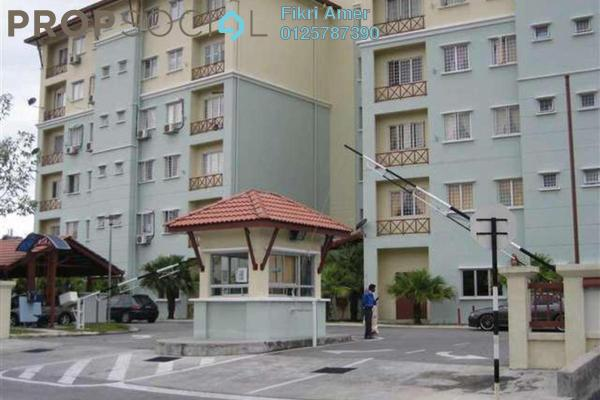 For Sale Apartment at Seri Galaksi Apartment, Subang Leasehold Fully Furnished 4R/2B 290k