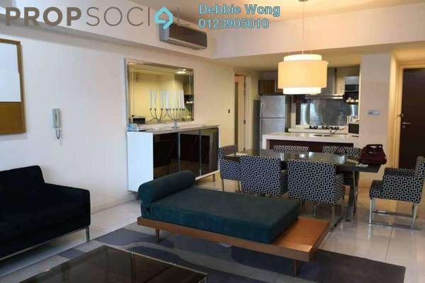 For Rent Condominium at Tiffani Kiara, Mont Kiara Freehold Fully Furnished 3R/3B 5k