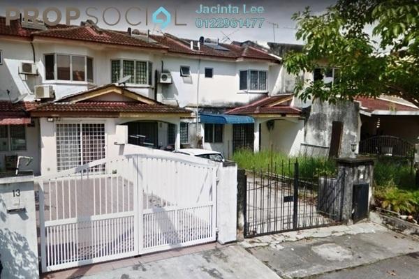 For Sale Terrace at PU12, Bandar Puchong Utama Freehold Semi Furnished 4R/3B 438k