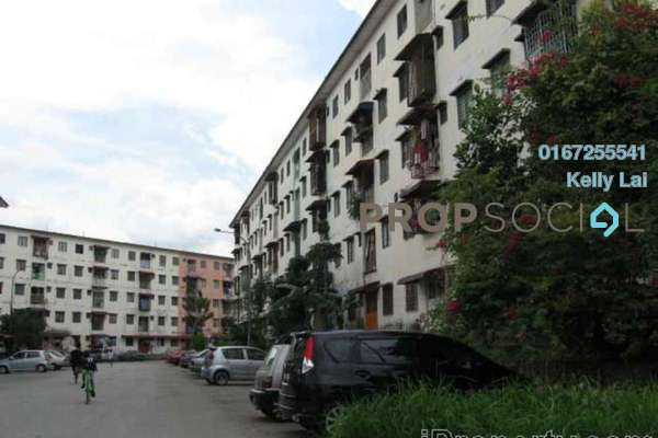 For Sale Apartment at Bandar Country Homes, Rawang Freehold Semi Furnished 3R/2B 80k