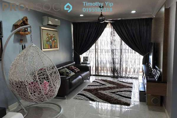 For Sale Condominium at Casa Tropicana, Tropicana Freehold Fully Furnished 3R/3B 630k