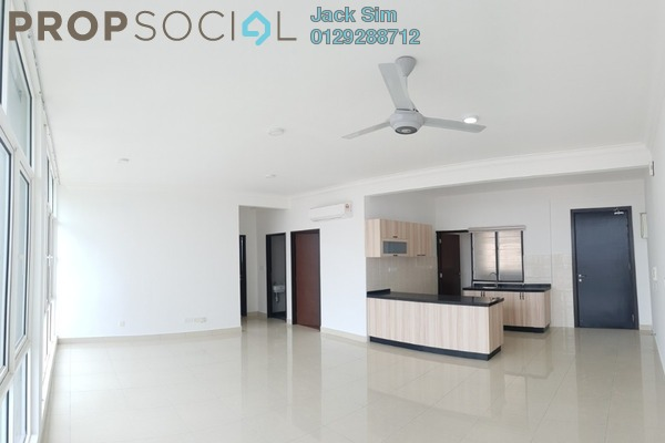 For Rent Serviced Residence at Boulevard Serviced Apartment, Jalan Ipoh Freehold Semi Furnished 3R/2B 1.6k
