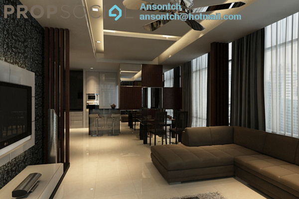For Sale Condominium at Pavilion Residences, Bukit Bintang Freehold Fully Furnished 2R/2B 2.61m