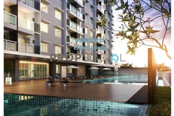 For Sale Condominium at Camellia Residences, Bandar Sungai Long Freehold Unfurnished 3R/2B 420k
