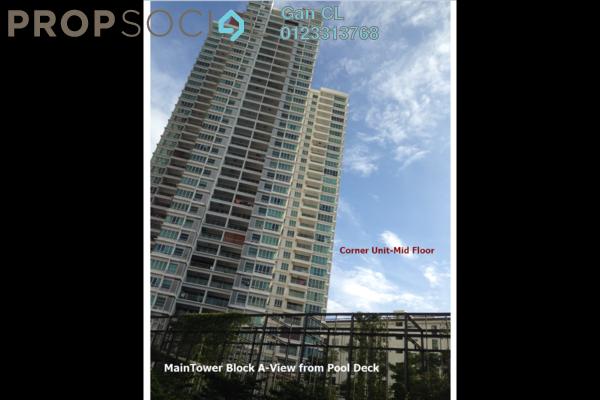 For Sale Condominium at Riana Green East, Wangsa Maju Leasehold Fully Furnished 4R/3B 898k
