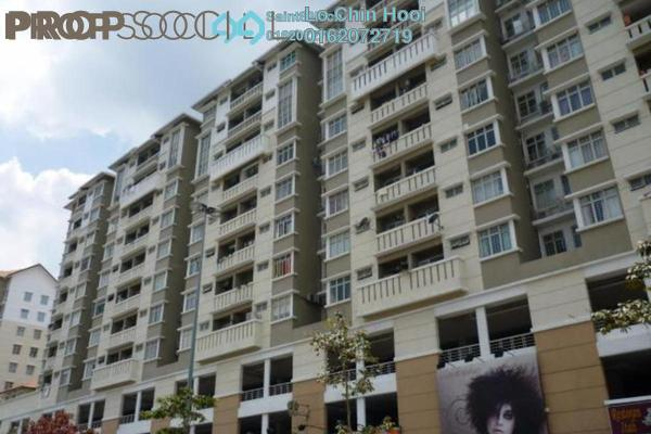 For Sale Condominium at Fortune Avenue, Kepong Leasehold Fully Furnished 3R/2B 470k