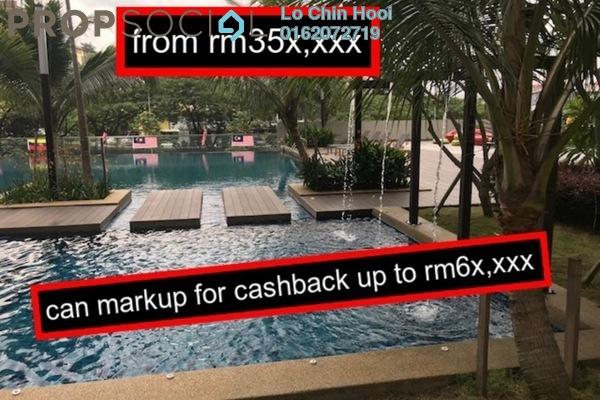 For Sale Condominium at Henna Residence @ The Quartz, Wangsa Maju Freehold Unfurnished 3R/2B 350k