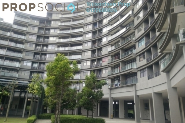 For Rent Condominium at Mirage By The Lake, Cyberjaya Freehold Semi Furnished 3R/3B 2.7k