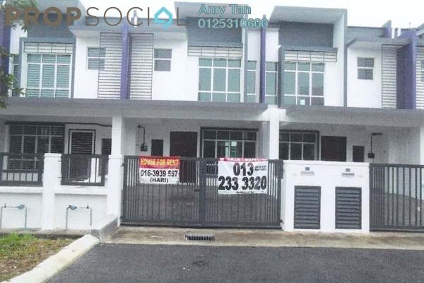 For Sale Terrace at Bandar Puncak Alam, Kuala Selangor Freehold Unfurnished 0R/0B 405k