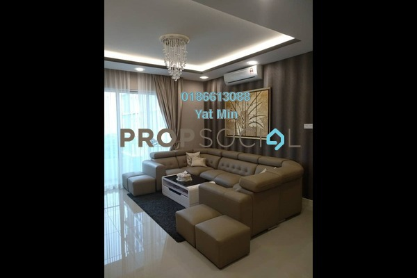 For Sale Condominium at Scenaria, Segambut Freehold Fully Furnished 3R/2B 900k