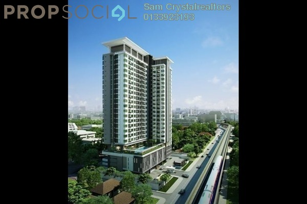 For Sale Serviced Residence at Suakasih, Bandar Tun Hussein Onn Freehold Unfurnished 4R/2B 570k