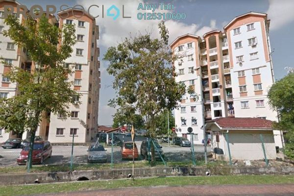 For Sale Apartment at Danaumas Apartment, Shah Alam Freehold Unfurnished 0R/0B 320k