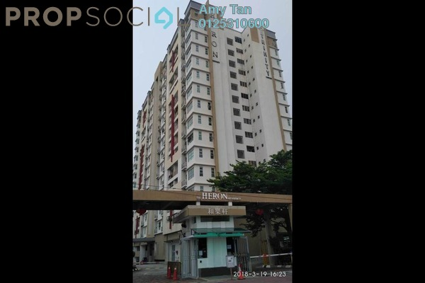 For Sale Serviced Residence at The Heron Residency, Puchong Freehold Unfurnished 0R/0B 300k