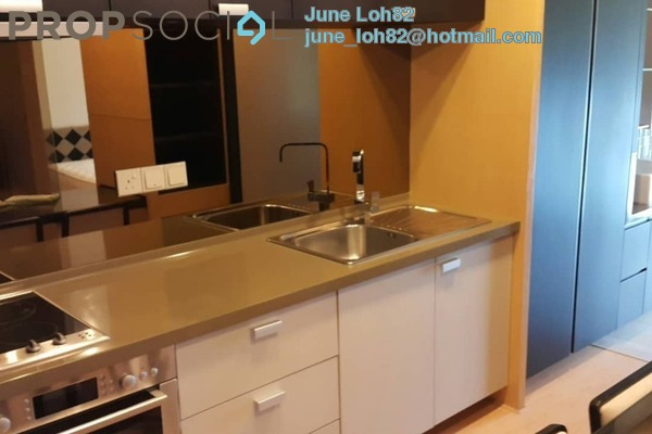 For Sale Condominium at VERVE Suites, Mont Kiara Leasehold Fully Furnished 1R/1B 660k