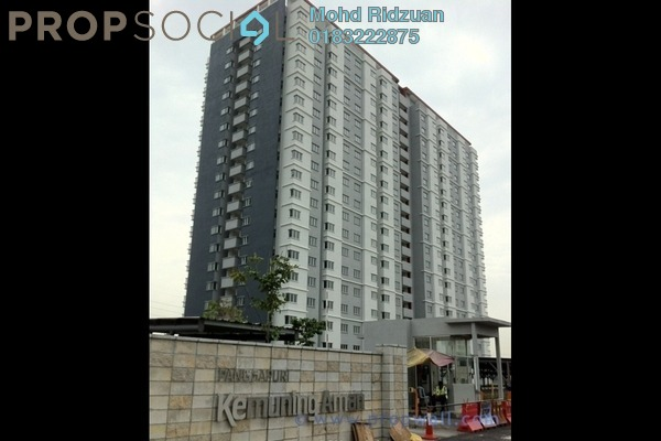 For Rent Apartment at Kemuning Aman, Kota Kemuning Freehold Semi Furnished 3R/2B 1k