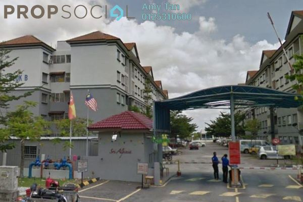 For Sale Apartment at Sri Alpinia, Bandar Puteri Puchong Freehold Unfurnished 0R/0B 530k