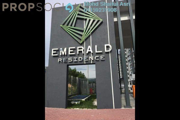 For Sale Condominium at Emerald Residence, Bandar Mahkota Cheras Freehold Semi Furnished 3R/2B 650k