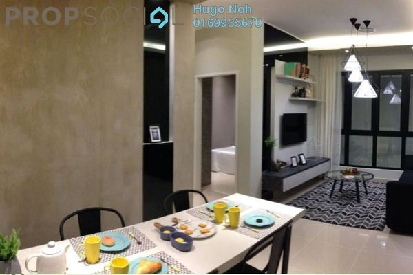 For Sale Condominium at The Nest, Setapak Freehold Unfurnished 3R/2B 530k
