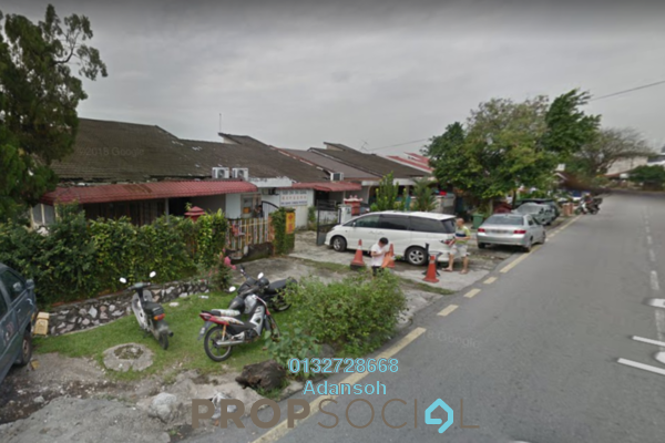 For Sale Terrace at Kepong Baru, Kepong Freehold Semi Furnished 3R/2B 835k