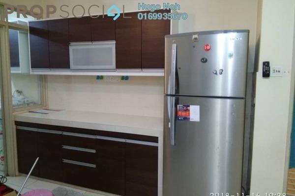 For Rent Condominium at Platinum Lake PV15, Setapak Freehold Semi Furnished 4R/2B 1.9k