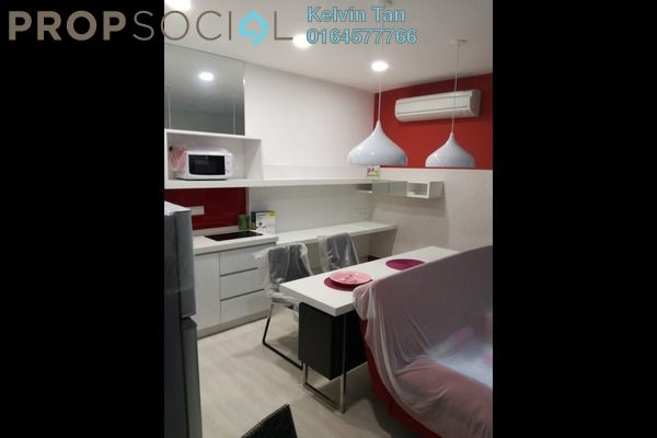 For Rent Condominium at Straits Garden, Jelutong Freehold Fully Furnished 1R/1B 1.1k