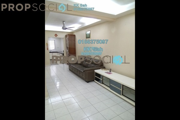 For Sale Terrace at Bandar Damai Perdana, Cheras South Freehold Semi Furnished 4R/3B 568k