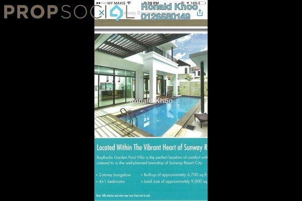 For Rent Villa at BayRocks, Bandar Sunway Freehold Fully Furnished 4R/5B 11k