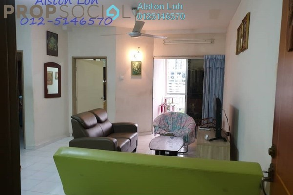 For Sale Condominium at Symphony Park, Jelutong Freehold Fully Furnished 3R/2B 408k