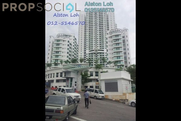 For Sale Condominium at The Oasis, Gelugor Freehold Semi Furnished 3R/2B 550k