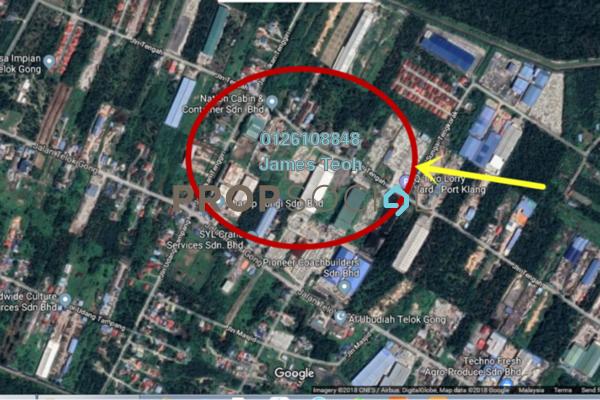 For Sale Land at Kampung Telok Gong , Port Klang Leasehold Unfurnished 0R/0B 10.1m