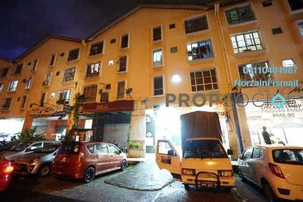 For Sale Apartment at Section 7, Shah Alam Leasehold Unfurnished 3R/2B 255k