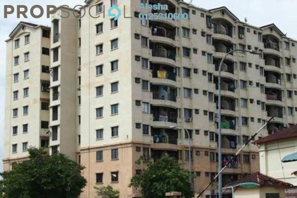 For Sale Apartment at Perdana Apartment, Shah Alam Freehold Unfurnished 0R/0B 187k