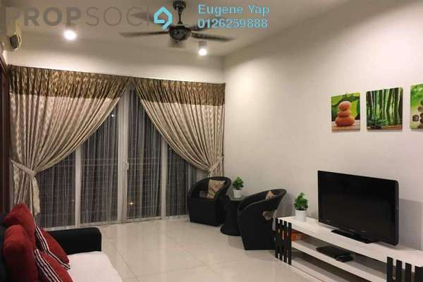 For Rent Condominium at The Northshore Gardens, Desa ParkCity Freehold Fully Furnished 2R/1B 3.2k