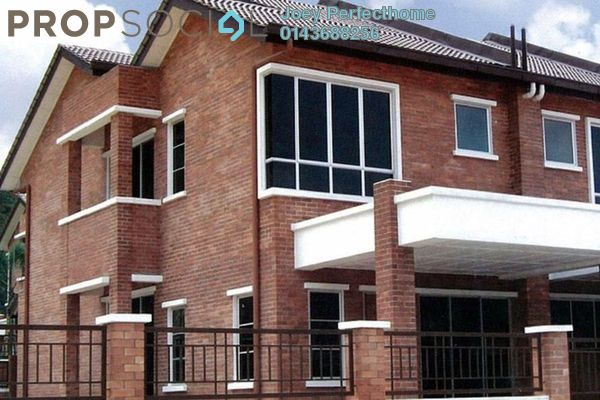 For Sale Terrace at Palm Walk, Bandar Sungai Long Freehold Unfurnished 4R/3B 690k