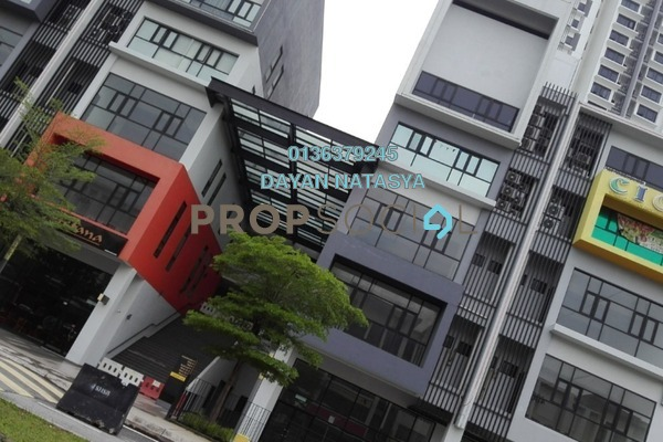 For Rent Shop at CBD Perdana 3, Cyberjaya Freehold Unfurnished 1R/2B 5k