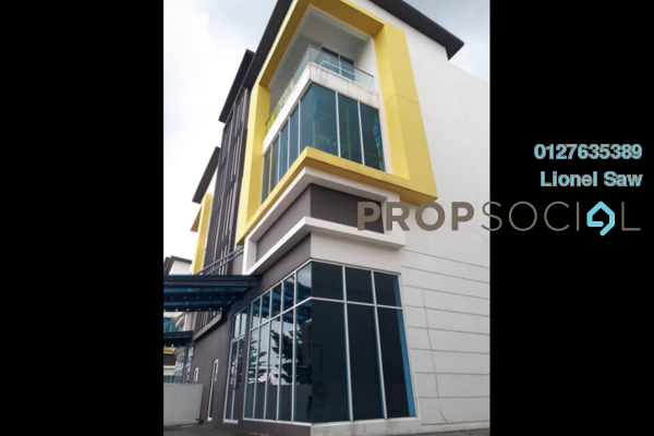 For Sale Factory at Taman Wangsa Permai, Kepong Freehold Unfurnished 0R/0B 6.5m