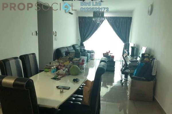 For Sale Terrace at Kiara Residence 2, Bukit Jalil Freehold Semi Furnished 3R/2B 629k