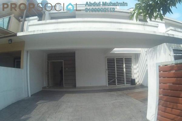 For Sale Terrace at Taman Sri Rampai, Setapak Freehold Unfurnished 4R/4B 870k
