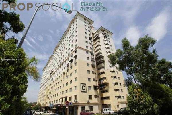 For Sale Apartment at Sri Rakyat Apartment, Bukit Jalil Freehold Semi Furnished 3R/1B 180k