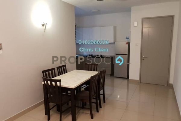 For Rent Condominium at Kiara Residence 2, Bukit Jalil Freehold Fully Furnished 3R/2B 2.3k