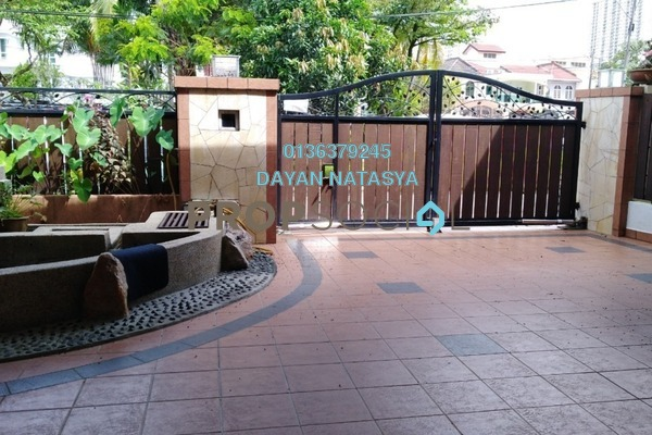 For Sale Terrace at Taman Menjalara, Bandar Menjalara Freehold Semi Furnished 8R/5B 920k