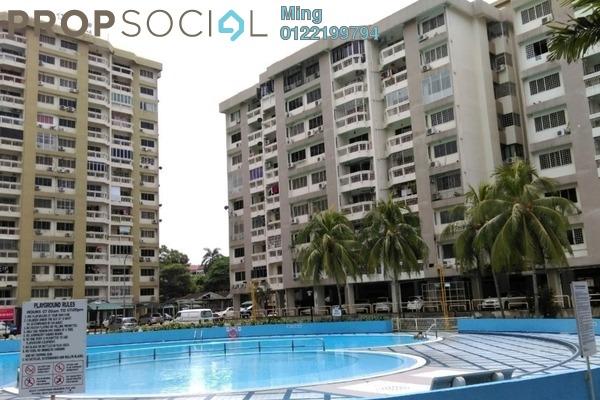 For Rent Condominium at Petaling Indah, Sungai Besi Freehold Unfurnished 3R/2B 1.1k