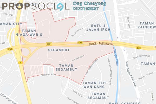 For Sale Land at Taman SPPK, Segambut Freehold Unfurnished 0R/0B 25.6m