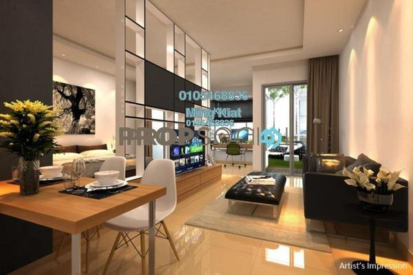 For Sale Serviced Residence at Nadayu63, Melawati Freehold Semi Furnished 1R/1B 390k
