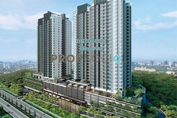 For Sale Condominium at Kaleidoscope, Setiawangsa Freehold Semi Furnished 3R/2B 608k