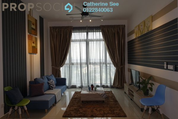 For Rent Condominium at Conezión, IOI Resort City Freehold Fully Furnished 3R/2B 2.5k