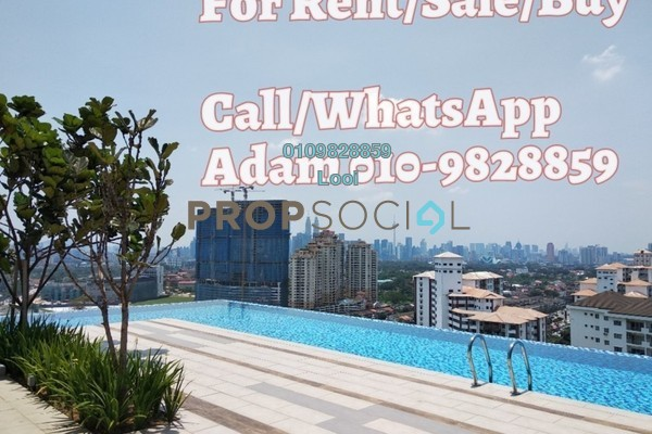 For Rent Condominium at The Nest, Setapak Freehold Semi Furnished 2R/2B 1.5k